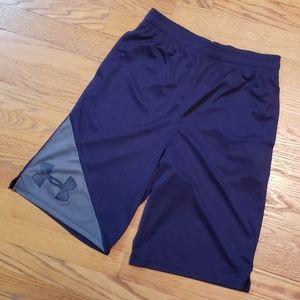 Boys Under Armour Heatgear Shorts